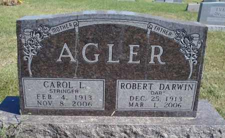 STRINGER AGLER, CAROL L. - Sheridan County, Nebraska | CAROL L. STRINGER AGLER - Nebraska Gravestone Photos