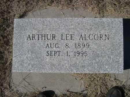 ALCORN, ARTHUR LEE - Sheridan County, Nebraska   ARTHUR LEE ALCORN - Nebraska Gravestone Photos