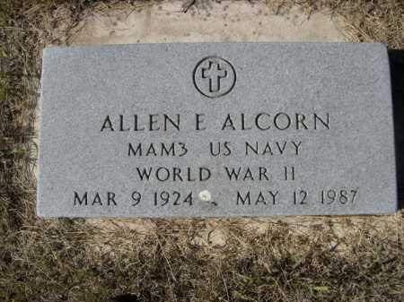 ALCORN, ALLEN E. - Sheridan County, Nebraska   ALLEN E. ALCORN - Nebraska Gravestone Photos