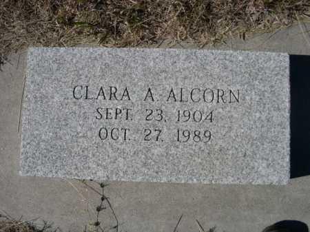 ALCORN, CLARA A. - Sheridan County, Nebraska   CLARA A. ALCORN - Nebraska Gravestone Photos