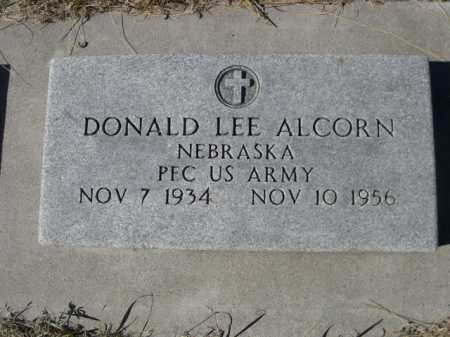 ALCORN, DONALD LEE - Sheridan County, Nebraska | DONALD LEE ALCORN - Nebraska Gravestone Photos