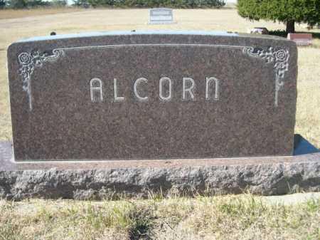 ALCORN, FAMILY - Sheridan County, Nebraska   FAMILY ALCORN - Nebraska Gravestone Photos