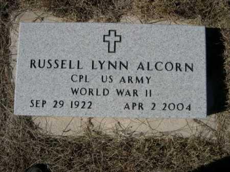ALCORN, RUSSELL LYNN - Sheridan County, Nebraska | RUSSELL LYNN ALCORN - Nebraska Gravestone Photos