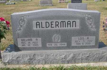 ALDERMAN, LOIS A. - Sheridan County, Nebraska   LOIS A. ALDERMAN - Nebraska Gravestone Photos