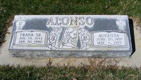ALONSO, AUGUSTA - Sheridan County, Nebraska | AUGUSTA ALONSO - Nebraska Gravestone Photos
