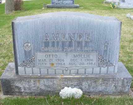 AMENDE, MOLLIE - Sheridan County, Nebraska | MOLLIE AMENDE - Nebraska Gravestone Photos