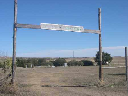 *AMITY CEMETERY, ENTRANCE TO - Sheridan County, Nebraska | ENTRANCE TO *AMITY CEMETERY - Nebraska Gravestone Photos