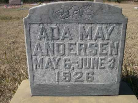 ANDERSEN, ADA MAY - Sheridan County, Nebraska | ADA MAY ANDERSEN - Nebraska Gravestone Photos
