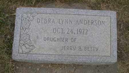 ANDERSON, DEBRA LYNN - Sheridan County, Nebraska | DEBRA LYNN ANDERSON - Nebraska Gravestone Photos