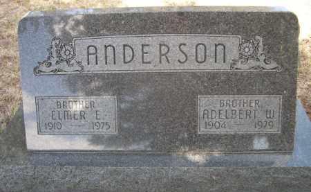 ANDERSON, ADELBERT W. - Sheridan County, Nebraska   ADELBERT W. ANDERSON - Nebraska Gravestone Photos