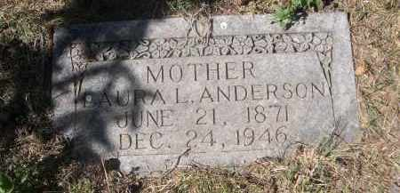 ANDERSON, LAURA L. - Sheridan County, Nebraska | LAURA L. ANDERSON - Nebraska Gravestone Photos