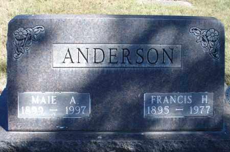 ANDERSON, MAIE A. - Sheridan County, Nebraska | MAIE A. ANDERSON - Nebraska Gravestone Photos