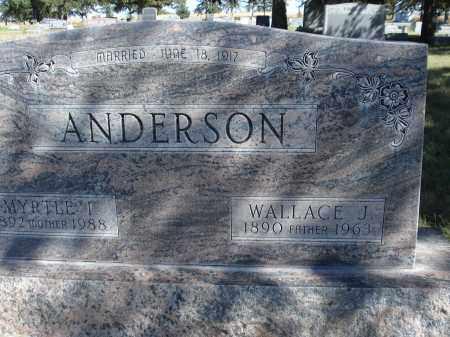 ANDERSON, MYRTLE I. - Sheridan County, Nebraska | MYRTLE I. ANDERSON - Nebraska Gravestone Photos