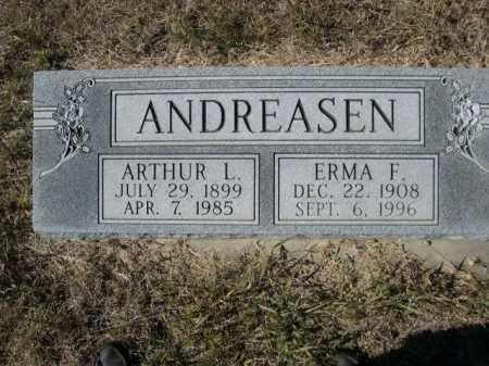 CHRISTOFFERSEN ANDREASEN, ERMA F. - Sheridan County, Nebraska | ERMA F. CHRISTOFFERSEN ANDREASEN - Nebraska Gravestone Photos