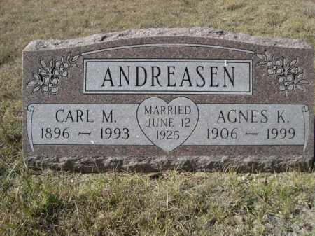 ANDREASEN, CARL M. - Sheridan County, Nebraska   CARL M. ANDREASEN - Nebraska Gravestone Photos