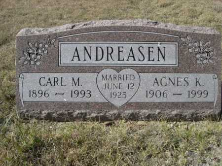 CHRISTOFFERSEN ANDREASEN, AGNES - Sheridan County, Nebraska | AGNES CHRISTOFFERSEN ANDREASEN - Nebraska Gravestone Photos