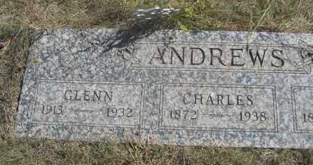 ANDREWS, CHARLES - Sheridan County, Nebraska | CHARLES ANDREWS - Nebraska Gravestone Photos