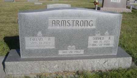 ARMSTRONG, DONALD R. - Sheridan County, Nebraska | DONALD R. ARMSTRONG - Nebraska Gravestone Photos
