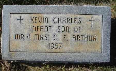 ARTHUR, KEVIN CHARLES - Sheridan County, Nebraska | KEVIN CHARLES ARTHUR - Nebraska Gravestone Photos