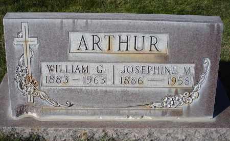 ARTHUR, JOSEPHINE M. - Sheridan County, Nebraska   JOSEPHINE M. ARTHUR - Nebraska Gravestone Photos