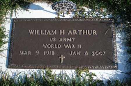 ARTHUR, WILLIAM H. - Sheridan County, Nebraska | WILLIAM H. ARTHUR - Nebraska Gravestone Photos