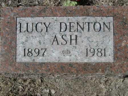 ASH, LUCY - Sheridan County, Nebraska | LUCY ASH - Nebraska Gravestone Photos