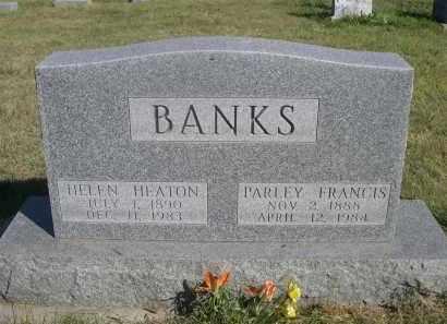 HEATON BANKS, HELEN - Sheridan County, Nebraska | HELEN HEATON BANKS - Nebraska Gravestone Photos