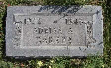 BARKER, ADRIAN A. - Sheridan County, Nebraska | ADRIAN A. BARKER - Nebraska Gravestone Photos