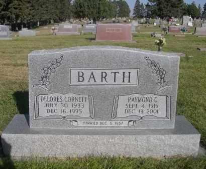 CORNETT BARTH, DELORES - Sheridan County, Nebraska | DELORES CORNETT BARTH - Nebraska Gravestone Photos