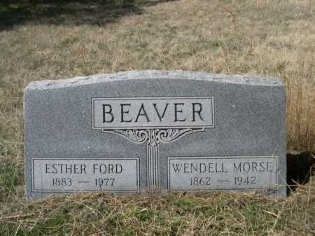 FORD BEAVER, ESTHER FORD - Sheridan County, Nebraska | ESTHER FORD FORD BEAVER - Nebraska Gravestone Photos