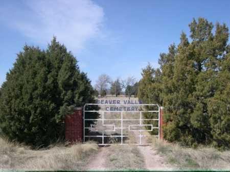 *BEAVER VALLEY CEM, ENTRANCE TO - Sheridan County, Nebraska | ENTRANCE TO *BEAVER VALLEY CEM - Nebraska Gravestone Photos