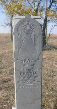BEGUIN, OPAL - Sheridan County, Nebraska | OPAL BEGUIN - Nebraska Gravestone Photos