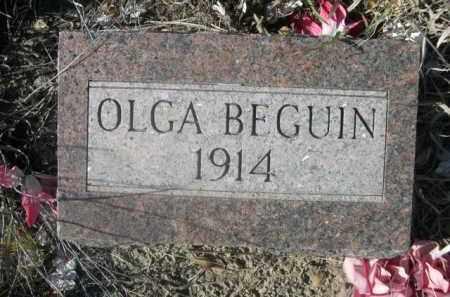 BEGUIN, OLGA - Sheridan County, Nebraska   OLGA BEGUIN - Nebraska Gravestone Photos