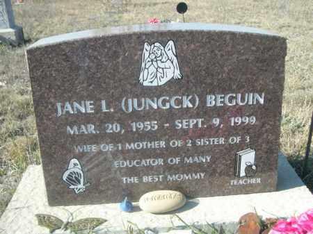 BEGUIN, JANE L. - Sheridan County, Nebraska | JANE L. BEGUIN - Nebraska Gravestone Photos