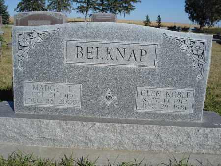 BELKNAP, MADGE E. - Sheridan County, Nebraska   MADGE E. BELKNAP - Nebraska Gravestone Photos