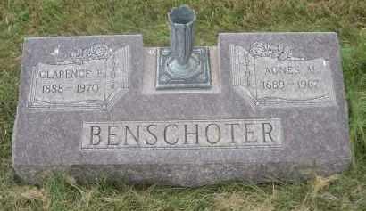 BENSCHOTER, AGNES M. - Sheridan County, Nebraska   AGNES M. BENSCHOTER - Nebraska Gravestone Photos