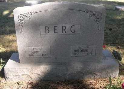 BERG, MILDRED J. - Sheridan County, Nebraska   MILDRED J. BERG - Nebraska Gravestone Photos