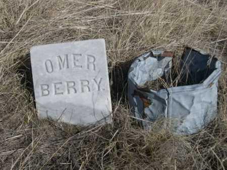 BERRY, OMER - Sheridan County, Nebraska | OMER BERRY - Nebraska Gravestone Photos