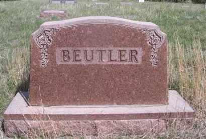 BEUTLER, FAMILY - Sheridan County, Nebraska   FAMILY BEUTLER - Nebraska Gravestone Photos