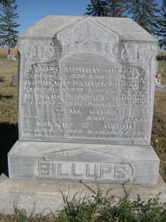WOOD, MINNIE E. - Sheridan County, Nebraska | MINNIE E. WOOD - Nebraska Gravestone Photos