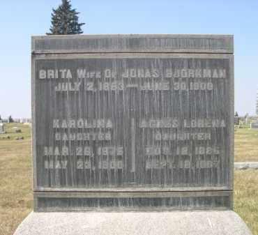 BJORKMAN, AGNES LORENA - Sheridan County, Nebraska | AGNES LORENA BJORKMAN - Nebraska Gravestone Photos
