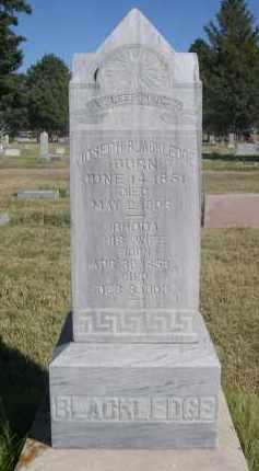 BLACKLEDGE, JOSEPH - Sheridan County, Nebraska   JOSEPH BLACKLEDGE - Nebraska Gravestone Photos