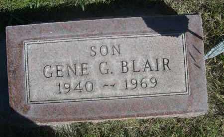 BLAIR, GENE G. - Sheridan County, Nebraska | GENE G. BLAIR - Nebraska Gravestone Photos