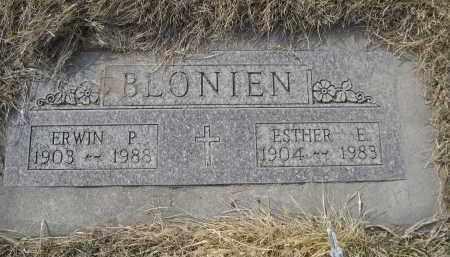 BLONIEN, ERWIN P. - Sheridan County, Nebraska | ERWIN P. BLONIEN - Nebraska Gravestone Photos