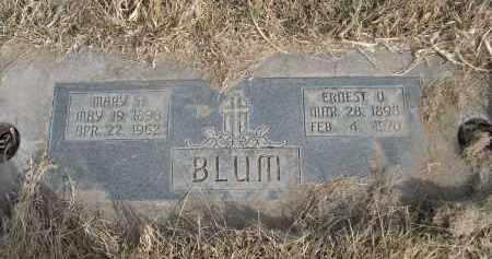 BLUM, ERNEST O. - Sheridan County, Nebraska | ERNEST O. BLUM - Nebraska Gravestone Photos