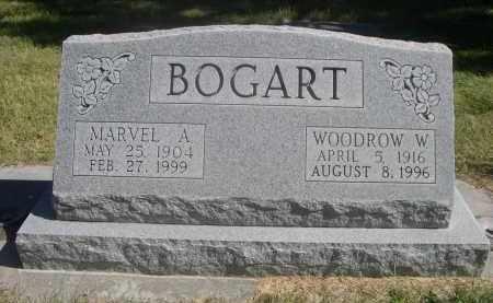 BOGART, MARVEL A. - Sheridan County, Nebraska | MARVEL A. BOGART - Nebraska Gravestone Photos