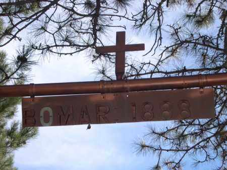 *BOMAR / SCHMIDT CEMETERY, SIGN FOR - Sheridan County, Nebraska | SIGN FOR *BOMAR / SCHMIDT CEMETERY - Nebraska Gravestone Photos