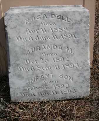 BOMAR, AURANDA M. - Sheridan County, Nebraska | AURANDA M. BOMAR - Nebraska Gravestone Photos