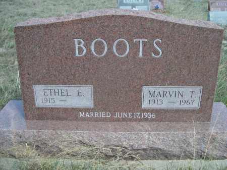 BOOTS, ETHEL E. - Sheridan County, Nebraska   ETHEL E. BOOTS - Nebraska Gravestone Photos