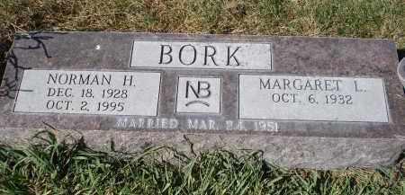 BORK, MARGARET L. - Sheridan County, Nebraska | MARGARET L. BORK - Nebraska Gravestone Photos